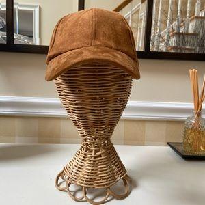 Camel Free People Baseball Hat